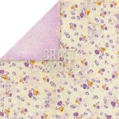 Craft & You 12x12 Scrapbook Paper - Spring Garden 04 - SG04